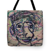 The Nose Knows Tote Bag by Natalie Holland