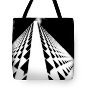 The Office Building Bw Tote Bag