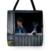 The Old Bell Cow Tote Bag