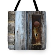 The Old Blue Door Tote Bag