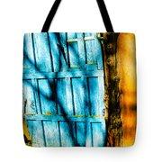 The Old Blue Door Tote Bag