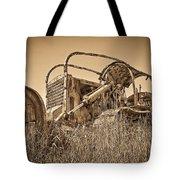 The Old Bulldozer Tote Bag