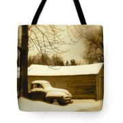 The Old Chevy Tote Bag