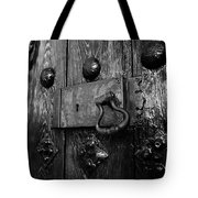 The Old Church Door Tote Bag