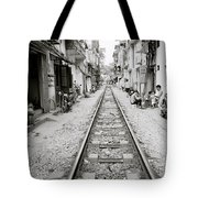 The Old City Of Hanoi Tote Bag