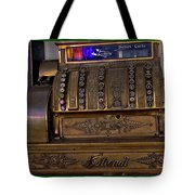 The Old Copper Cash Machine Tote Bag