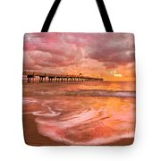 The Old Fishing Pier Tote Bag