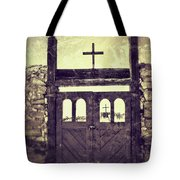 The Old Galisteo Cemetery Tote Bag