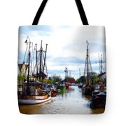 The Old Harbor Tote Bag