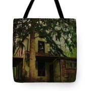 The Old House Where Nobody Lives Tote Bag