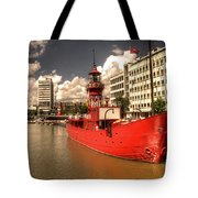 The Old Lightship Tote Bag