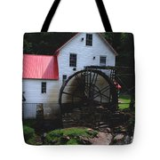 The Old Mill 1886 In Cherokee North Carolina Tote Bag