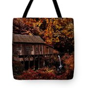The Old Mill Stream Tote Bag