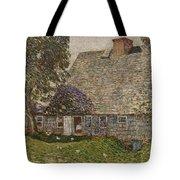 The Old Mulford House Tote Bag by Childe Hassam