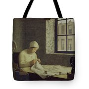 The Old Nurse Tote Bag by Frederick Cayley Robinson