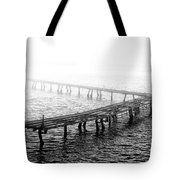 The Old Pier Tote Bag