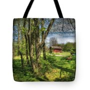 The Old River Shed Tote Bag
