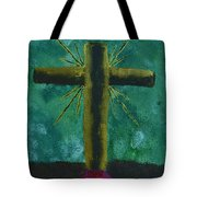 The Old Rugged Cross Tote Bag