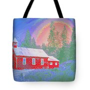 The Old Schoolhouse Library Tote Bag