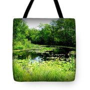 The Ole Fishing Hole Tote Bag