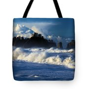 The Olympic Blues Tote Bag