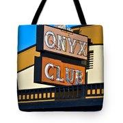 The Onyx Club Tote Bag