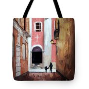 The Open Door Tote Bag by Anthony Falbo