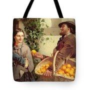 The Orange Seller  Tote Bag