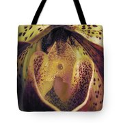 The Orchid Center Tote Bag