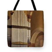 the Organ Augusta Victoria Jerusalem Tote Bag