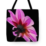 The Other Side Of The Floral Tote Bag