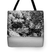 The Overhang In Black And White Tote Bag