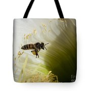 The Overloaded Bee Tote Bag