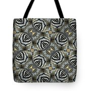 The Owl And The Zebra Tote Bag