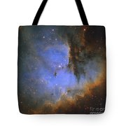 The Pacman Nebula Tote Bag by Ken Crawford