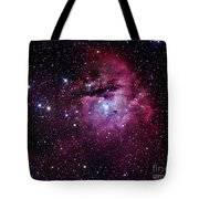 The Pacman Nebula Tote Bag by Robert Gendler