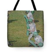 The Pads Digital Art Tote Bag