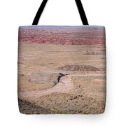The Painted Desert  8042 Tote Bag