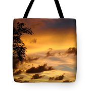 The Painting Of The Creator Tote Bag
