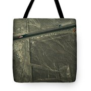 The Pan-american Highway Cuts Tote Bag