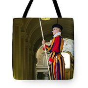 The Papal Swiss Guard Tote Bag
