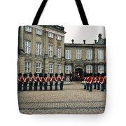 The Parading Of The Guards Tote Bag