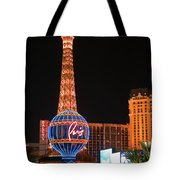 The Paris At Night Tote Bag