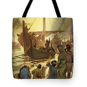 The Parting Tote Bag by Angus McBride