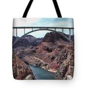The Pat Tillman Memorial Bridge Tote Bag