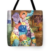 The Patchwork Elephant Art Tote Bag