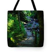 The Path To Iron Creek  Tote Bag