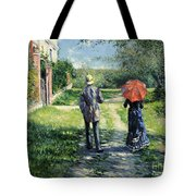 The Path Uphil Tote Bag