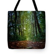 The Pathway In The Forest Tote Bag