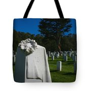 The Patriot And The Cypress Tote Bag